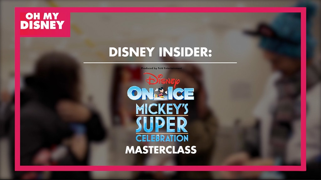 Disney Insider: A Skating Masterclass with Disney On Ice