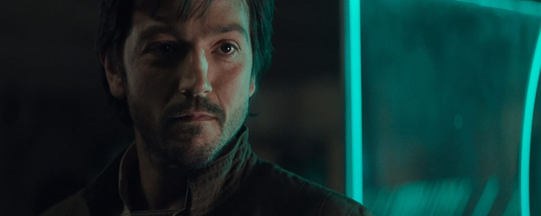 Diego Luna playing Cassian Andor from Rogue One