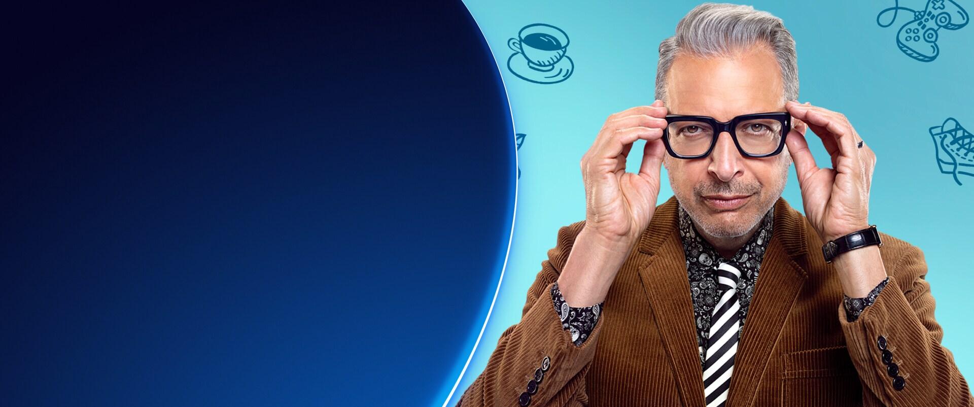 Imagen estática de El mundo según Jeff Goldblum