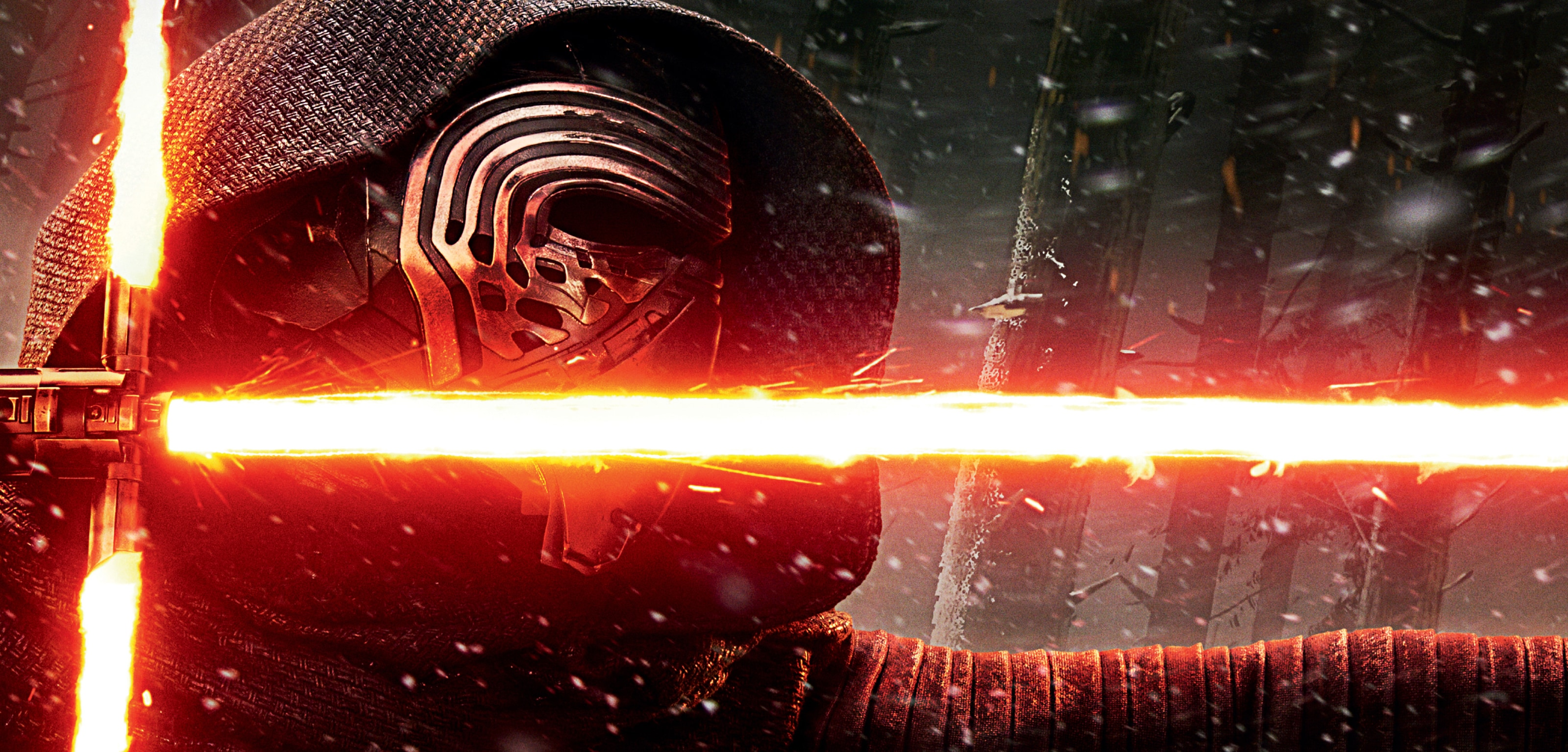An image of Kylo Ren from Star Wars: The Force Awakens