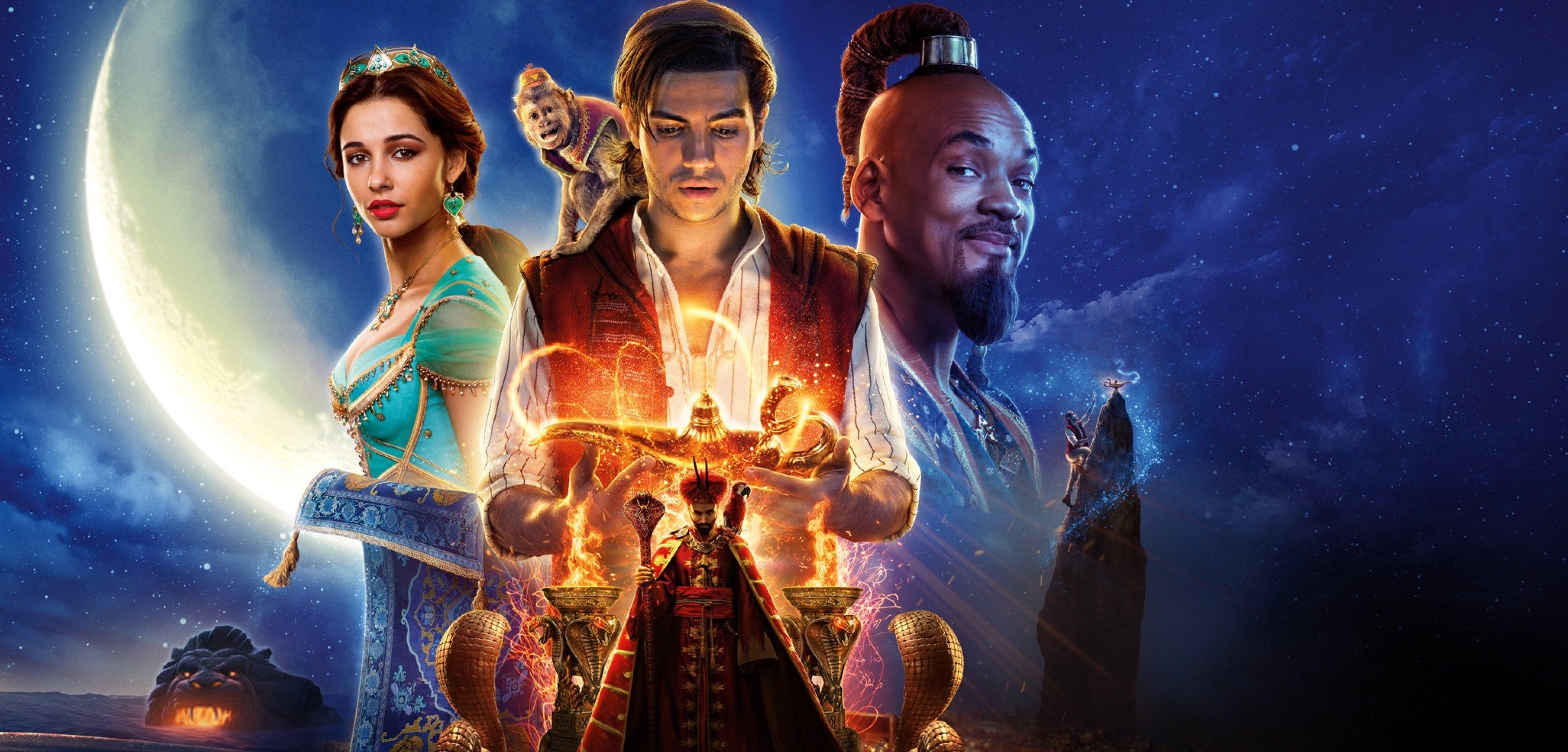 Un fermo immagine da Aladdin