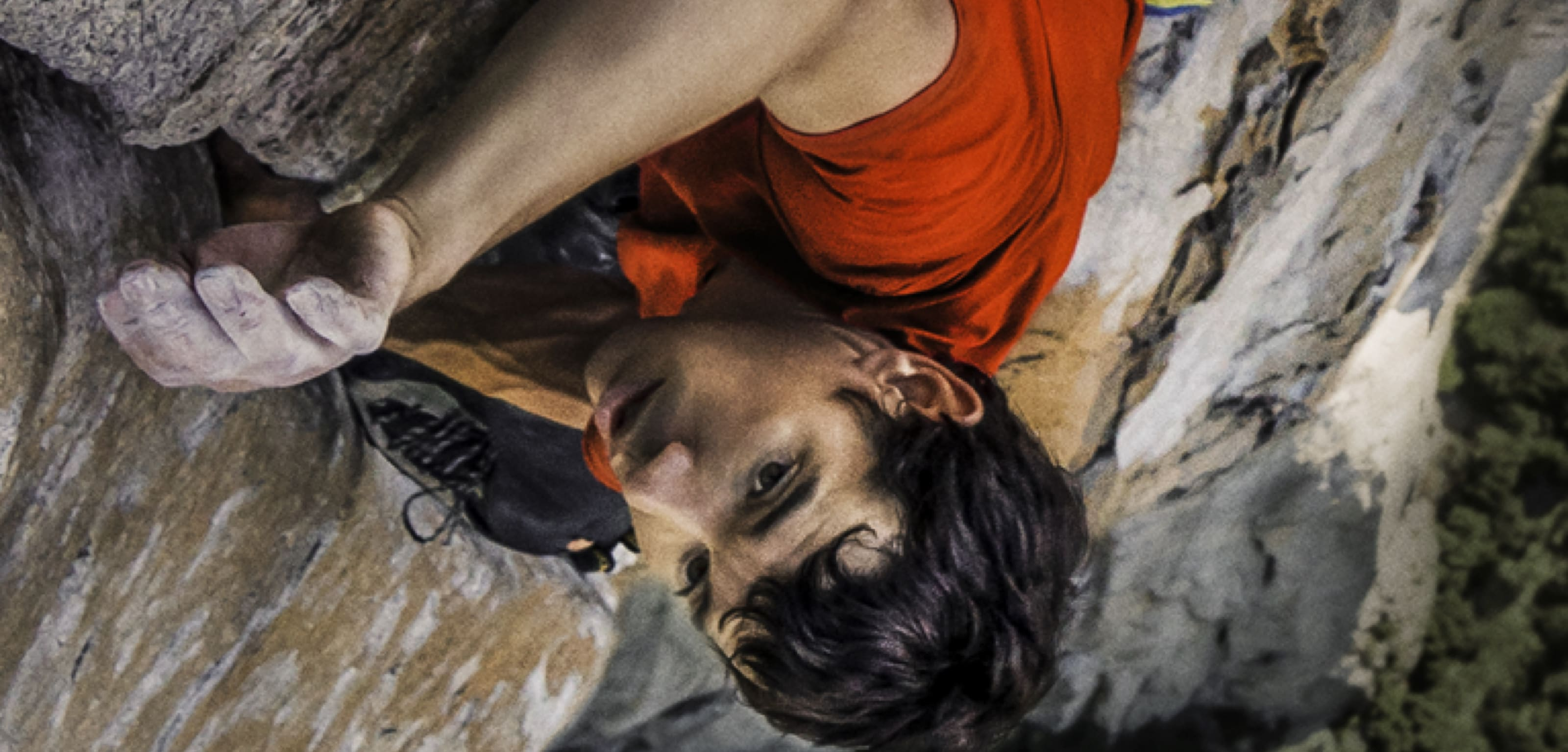 A still image from Free Solo