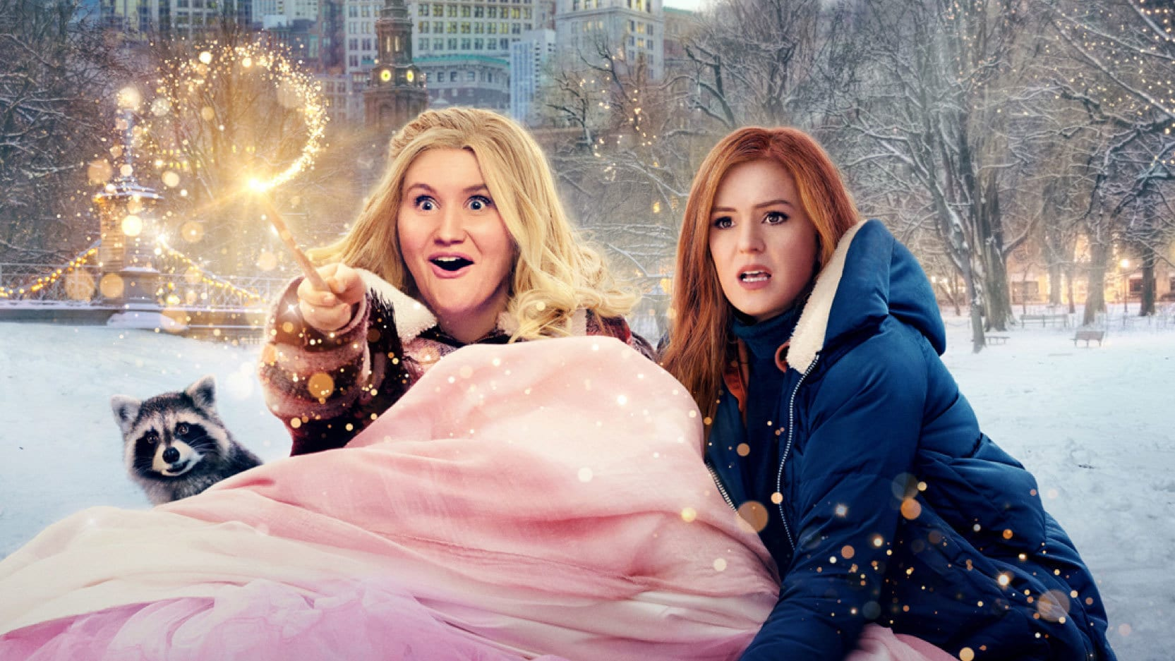 """Disney+ releases trailer for its magical holiday comedy """"Godmothered,"""" premiering December 4 on Disney+"""