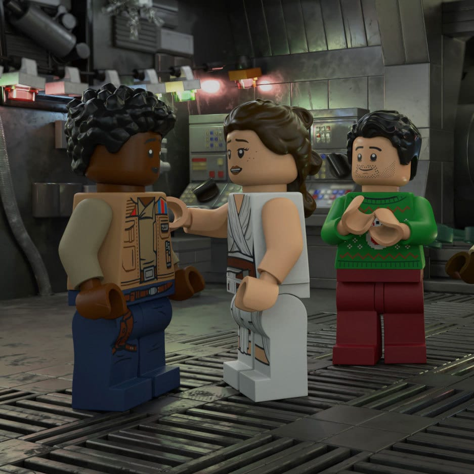 """Disney+ shares """"LEGO Star Wars Holiday Special"""" trailer and key art"""