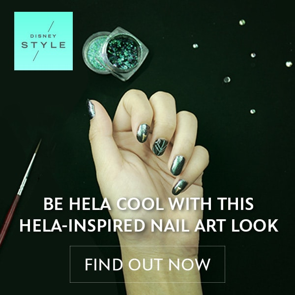 Disney Style - BE HELA COOL WITH THIS HELA-INSPIRED NAIL ART LOOK