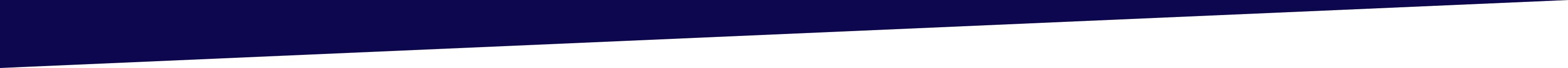 Blue to white page divider