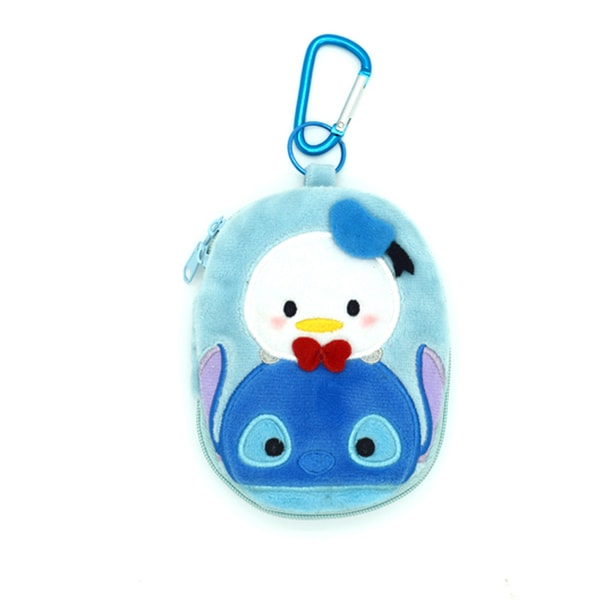 Tsum Tsum key Pouch Stitch & Donald - SG Homepage Tracking Link