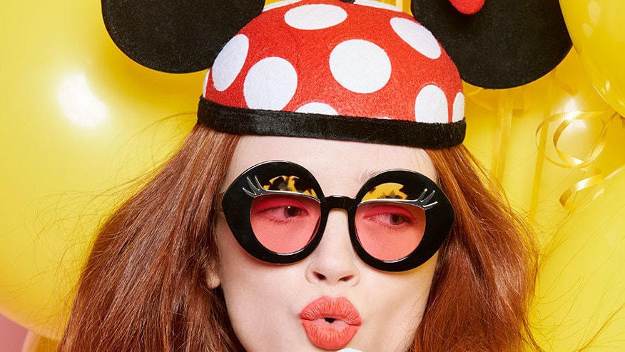 Exclusive: Karen Walker Celebrates Mickey and Minnie Mouse in a Colorful Collection