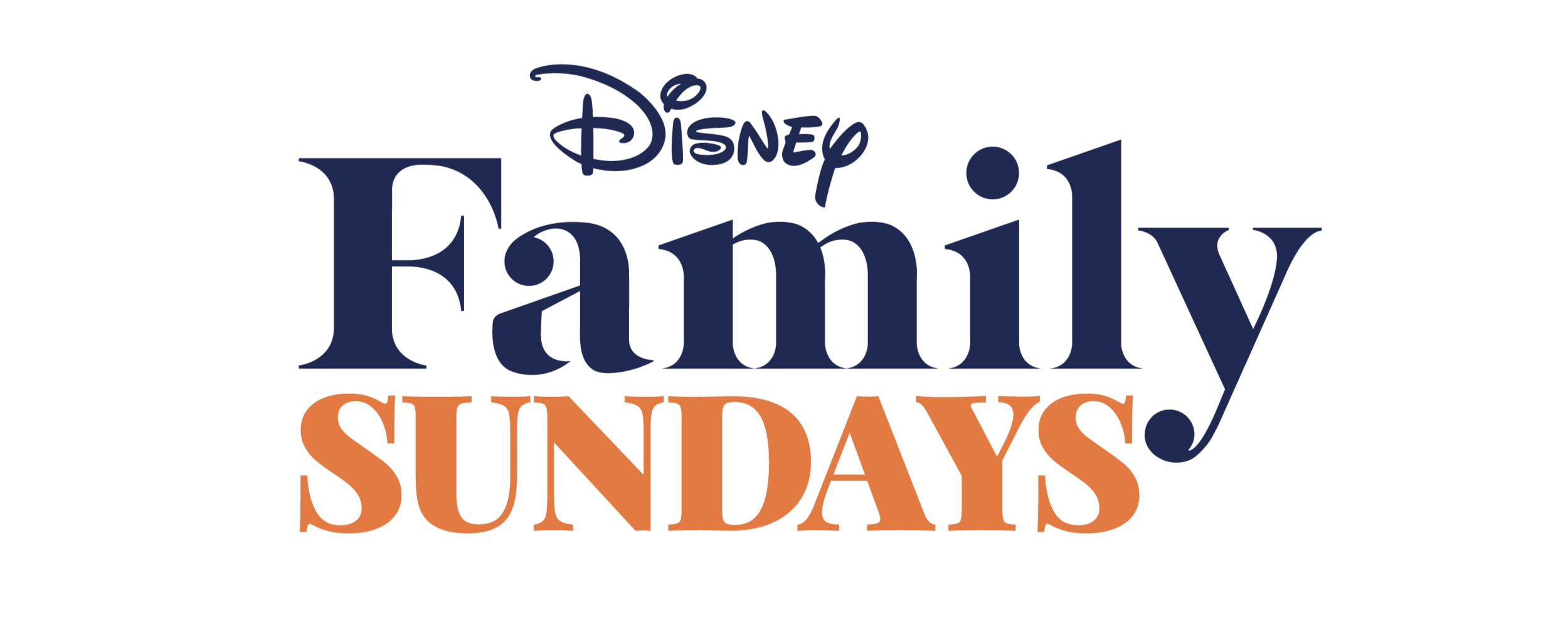 Disney Family Sundays