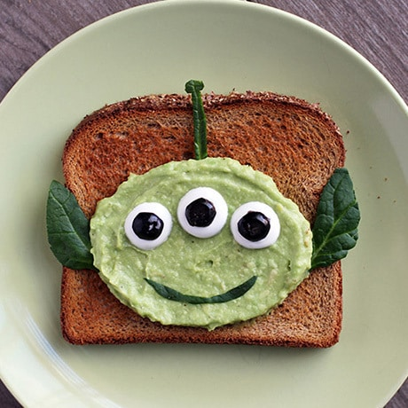 Toast Alieno di Toy Story