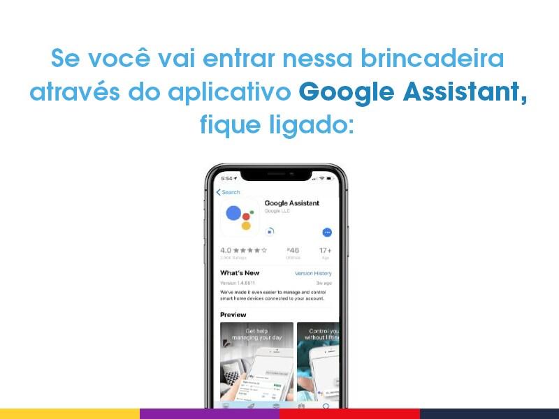 Aplicativo Google Assistant