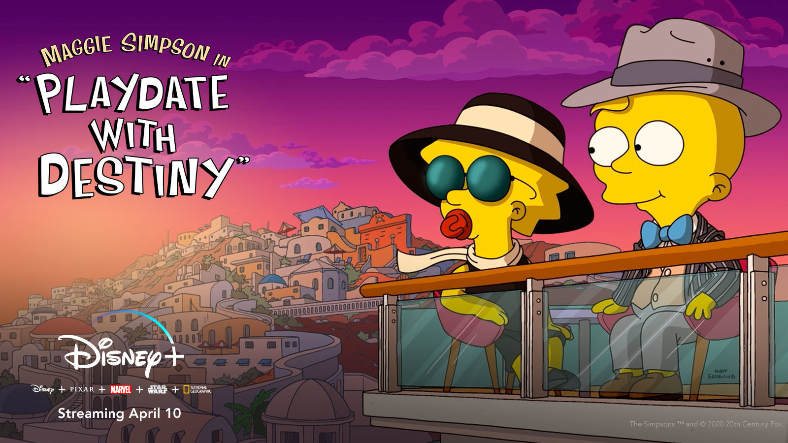 "Maggie Simpson in ""Playdate with Destiny"" From ""The Simpsons"" Comes to Disney+"