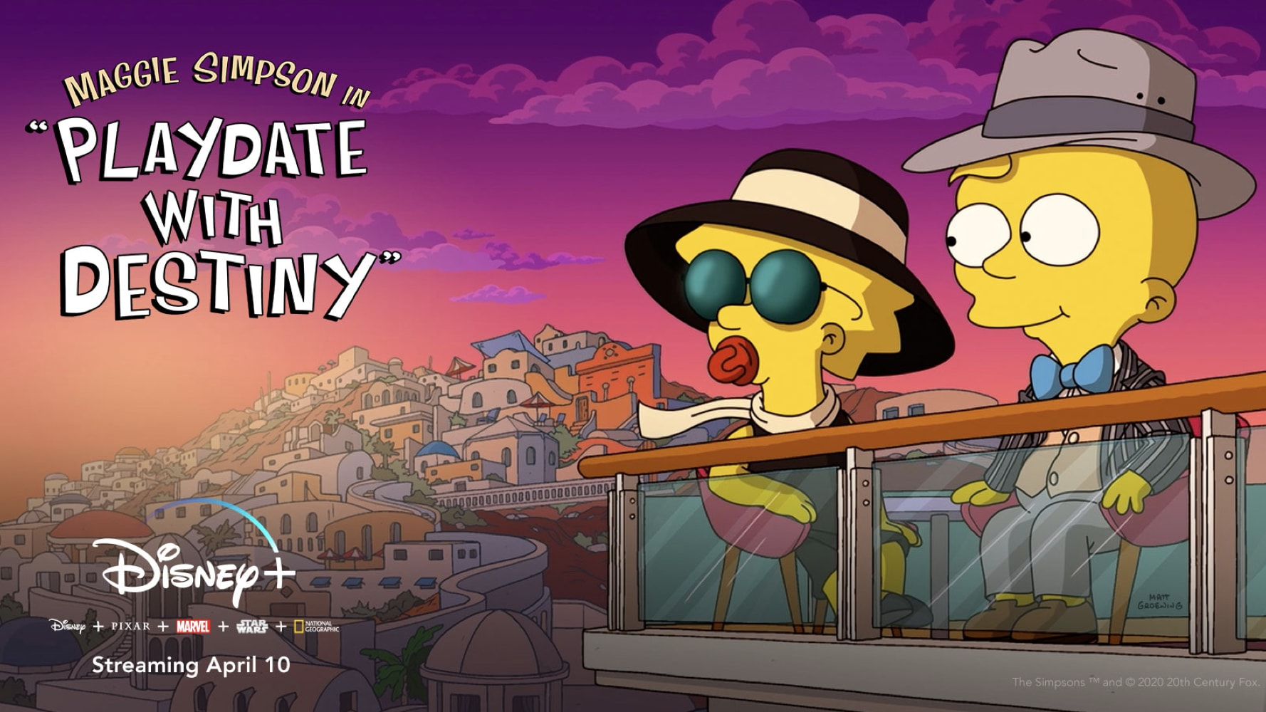 """The Simpsons"" Animated Short Film ""Maggie Simpson in 'Playdate with Destiny'"" Streams Tomorrow on Disney+"