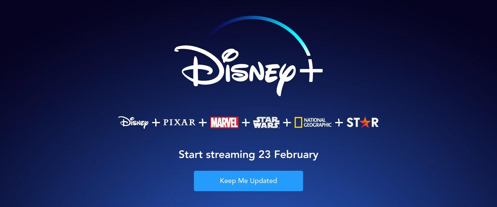 Disney+ Singapore Launch EMEA Banner