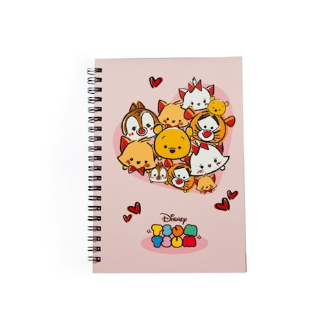 Disney Tsum Tsum Lambent Love Notebook Pink