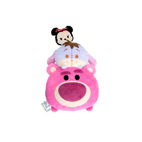 Disney Tsum Tsum Stack Minnie, Eeyore & Lotso Plush Cushion