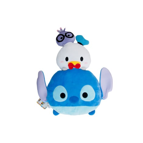 Disney Tsum Tsum Stack Tandy, Donald & Stitch Plush Cushion