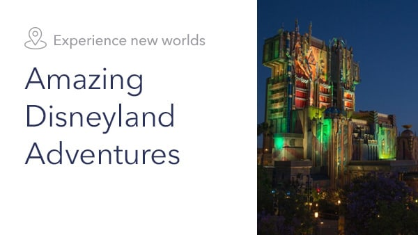 Disneyland GOTG - Plan Your Adventure Slider - Homepage - Link AU