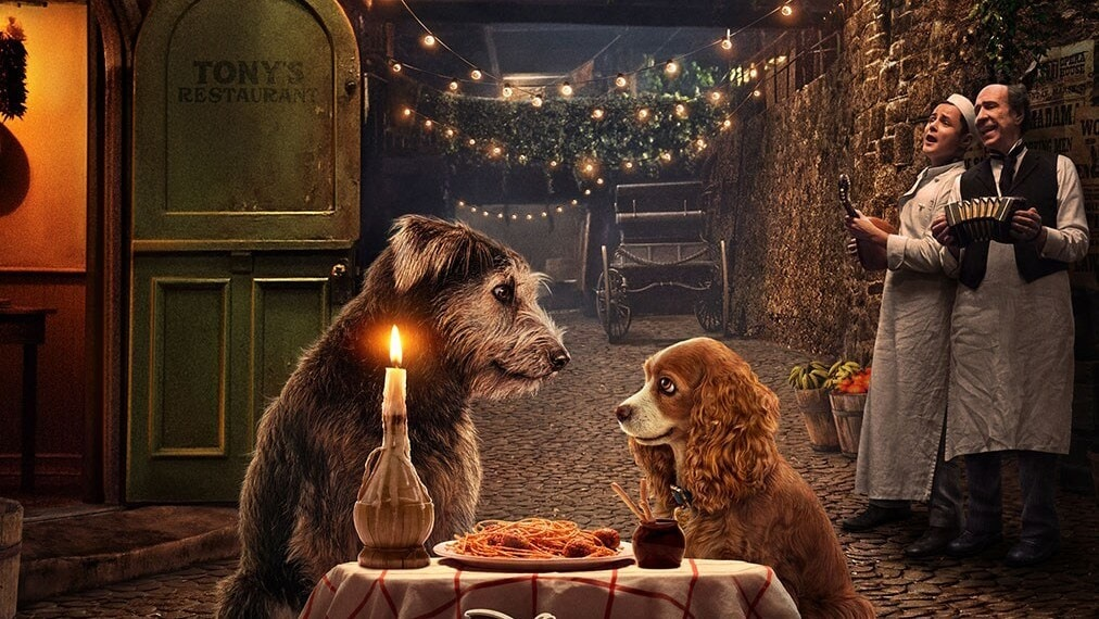 We Can't Get Over How Cute the New Live-Action Lady and the Tramp Looks