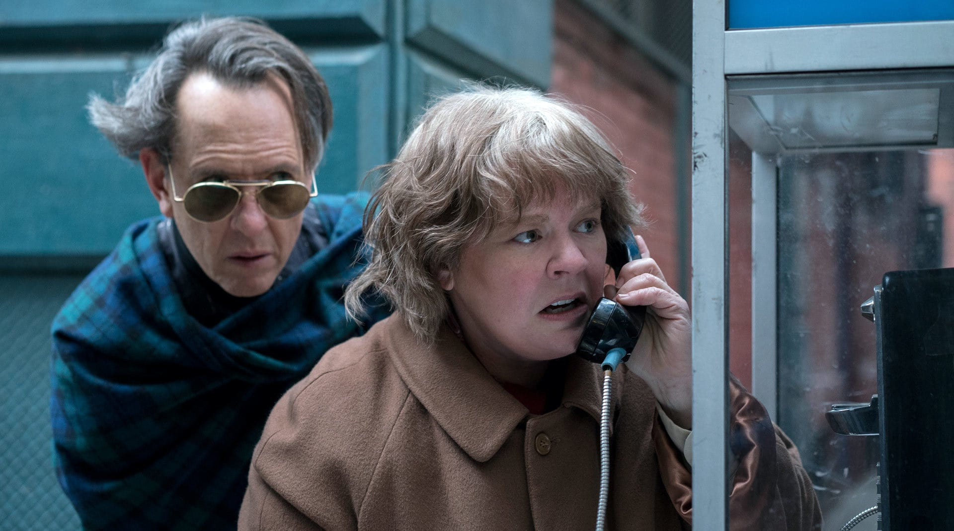 Een afbeelding uit Can You Ever Forgive Me?
