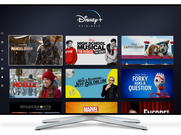 Disney+ Originals on Connected Device