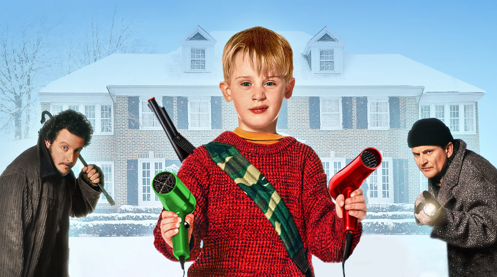 A still from Home Alone