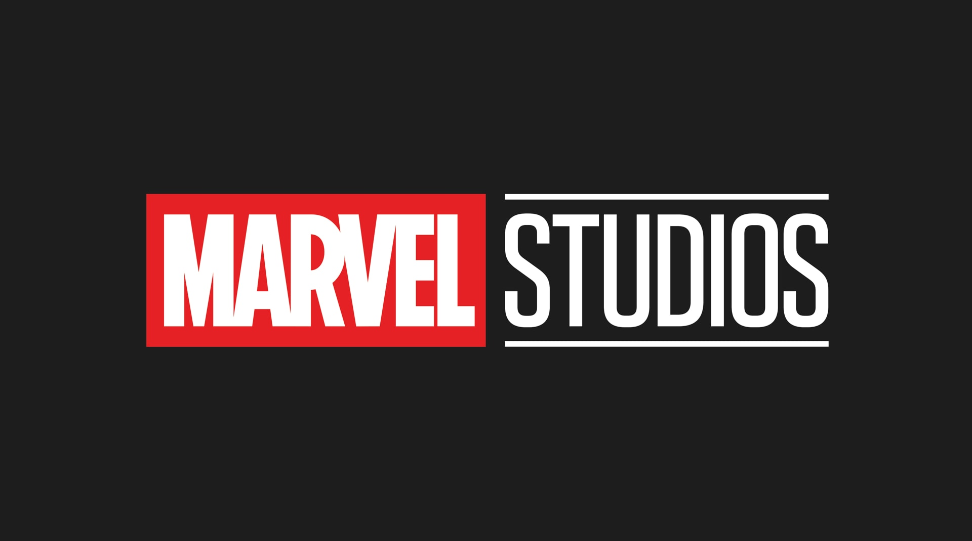 A logo from Marvel Studio