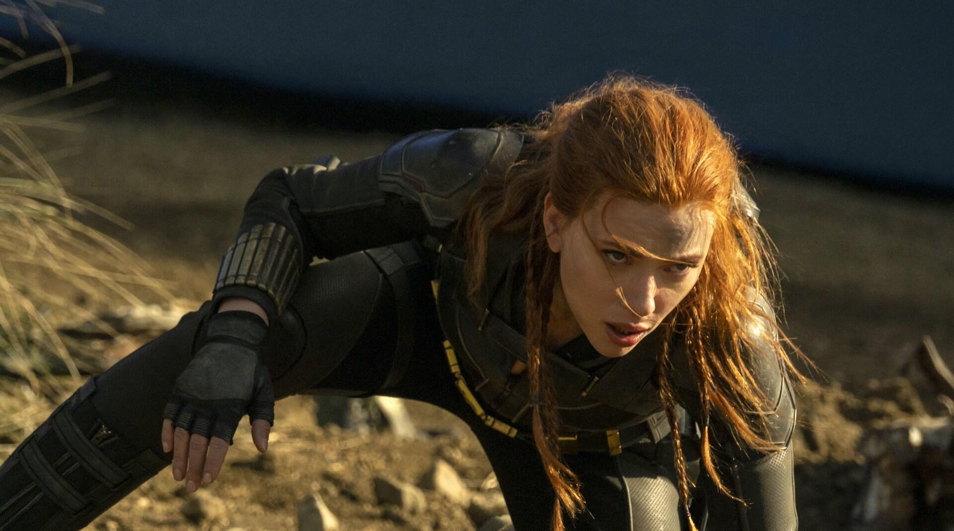 Een afbeelding uit Black Widow