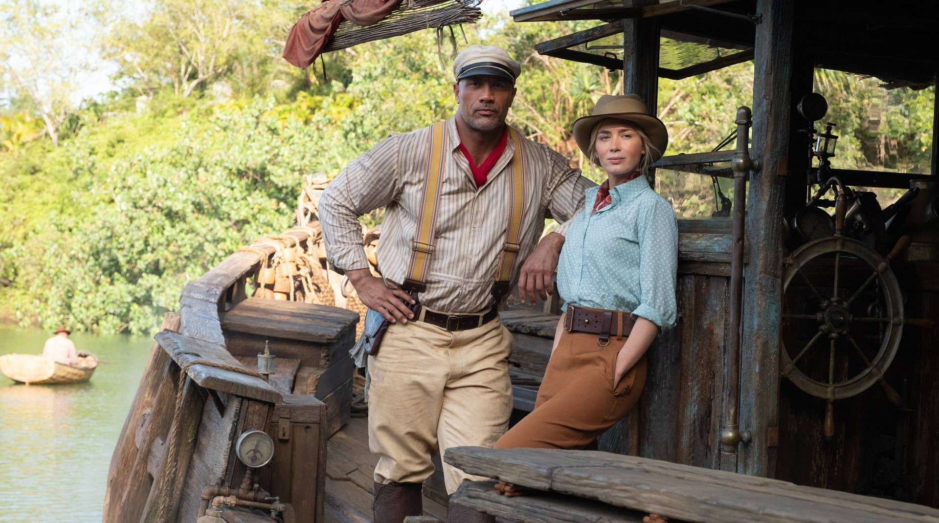 A still image from Jungle Cruise