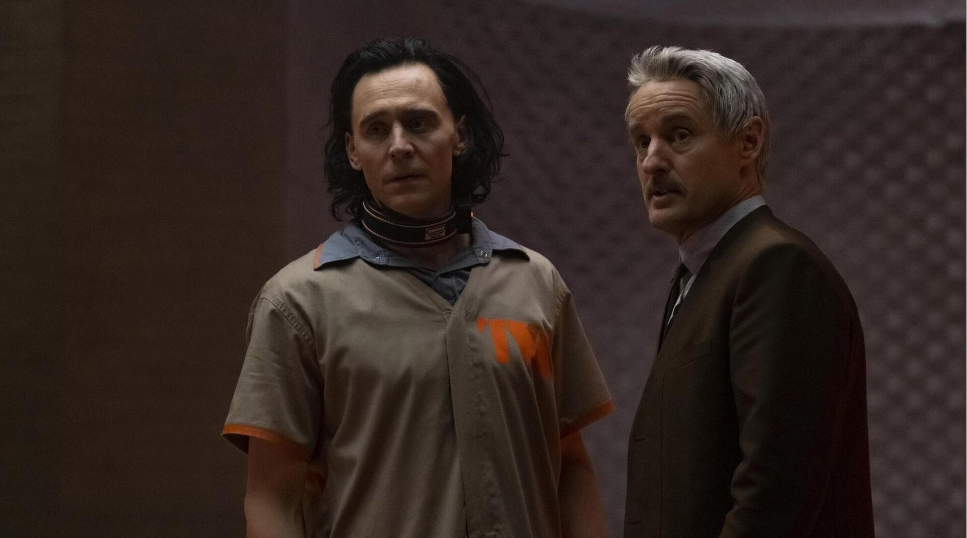A still image from Loki