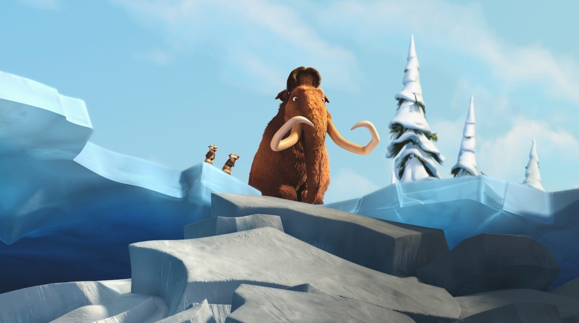 A still from Ice Age Dawn of the Dinosaurs
