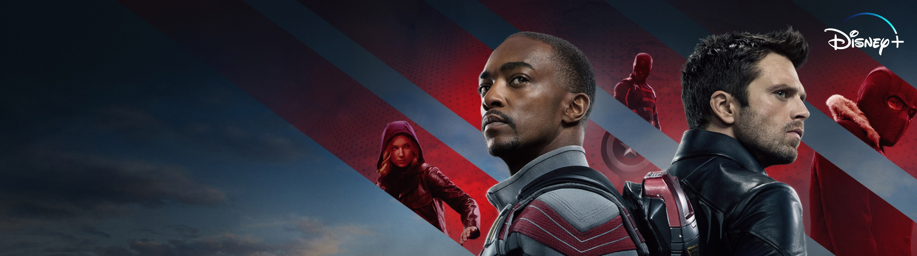 The Falcon and the Winter Soldier streaming now on Disney+