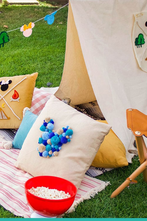 Cómo vivir una acampada Disney