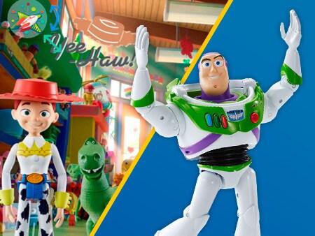 Decore o mundo de Toy Story