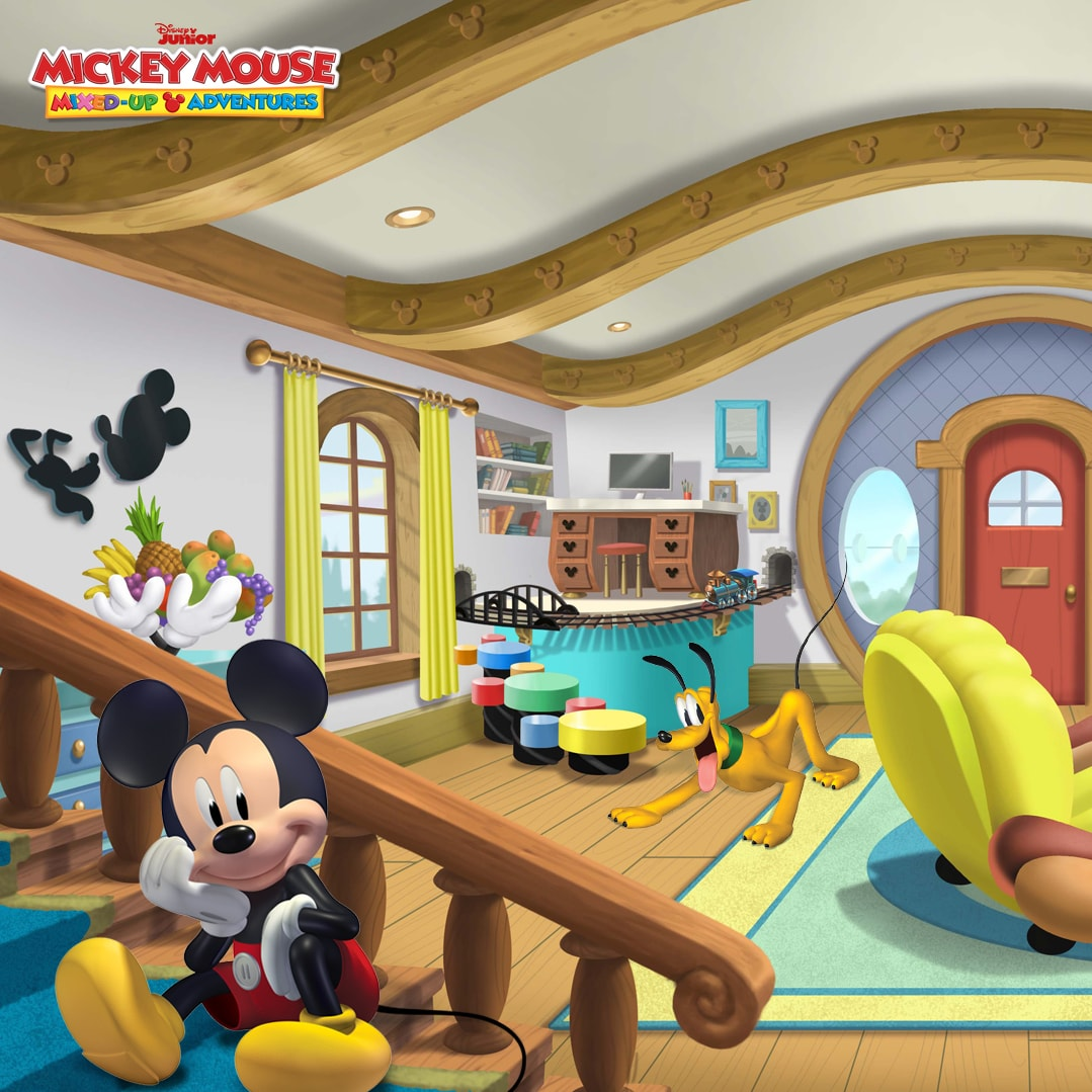 Sprinkle a Little Magic on Your Next Video Call With These Disney Channel Backgrounds!