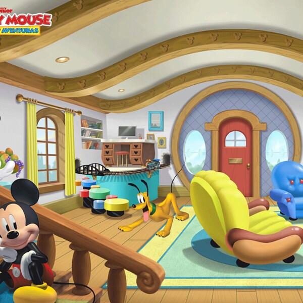 Adicione mágica à próxima chamada de vídeo com imagens de fundo dos canais Disney