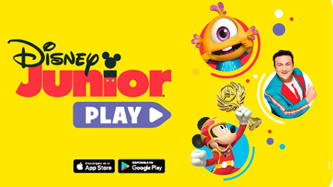 Disney Junior Play, uma plataforma gratuita e repleta de conteúdo para pré-escolares