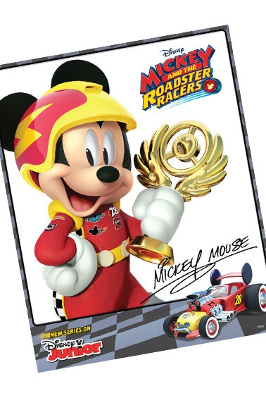 Mickey Hero Card