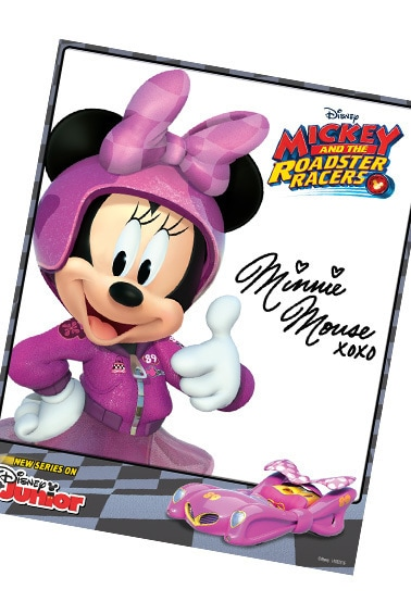 Minnie Hero Card