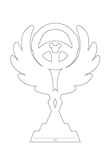 Trophy Coloring Book