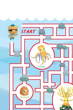 Octonauts All Activities Page