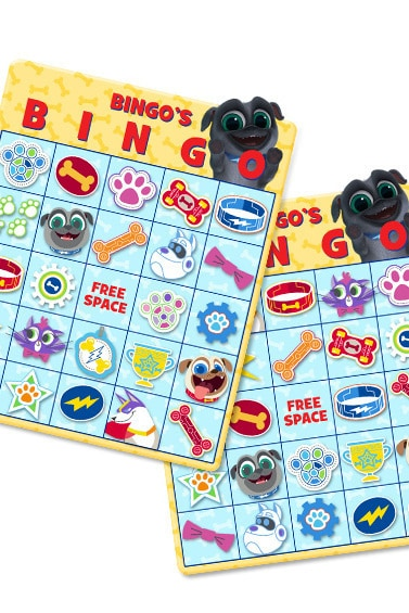 Puppy Dog Pals – BINGO Game
