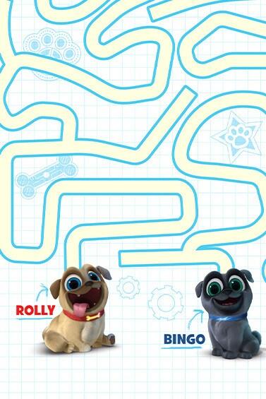 Puppy Dog Pals – Maze