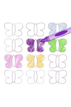 Sofia the First: The Curse of Princess Ivy - Activity Kit - Butterfly Hair Clips
