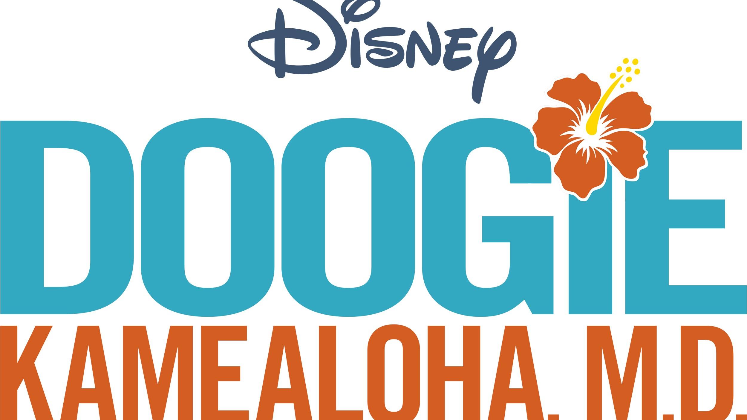 Doogie Kamealoha, M.D. Logo