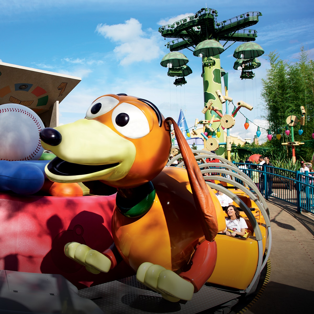 Toy Story Land in der Disneyland Paris