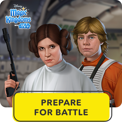 Disney Magic Kingdoms | Prepare for Battle