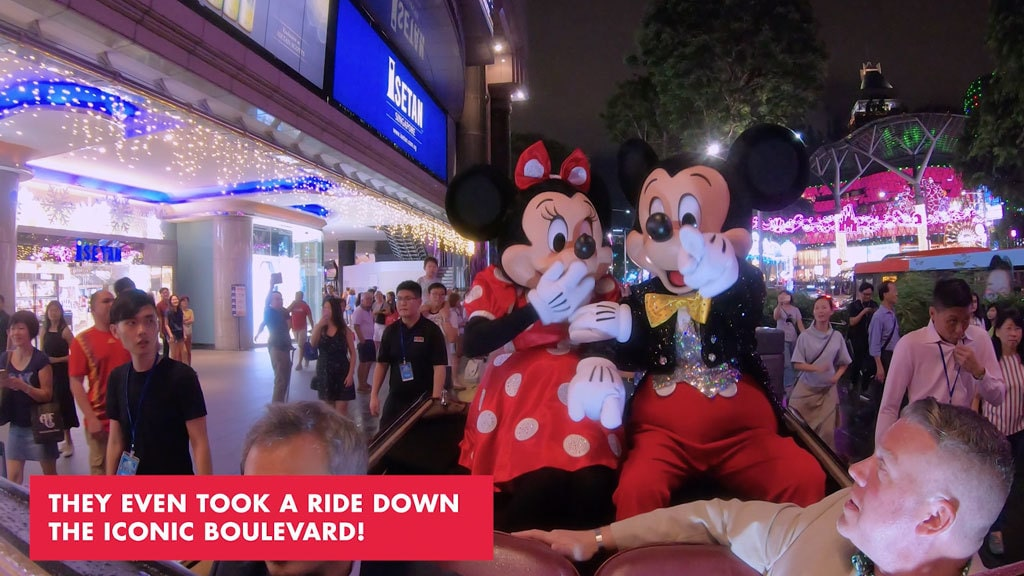 Disney Magical Moments in Orchard Road - What to know