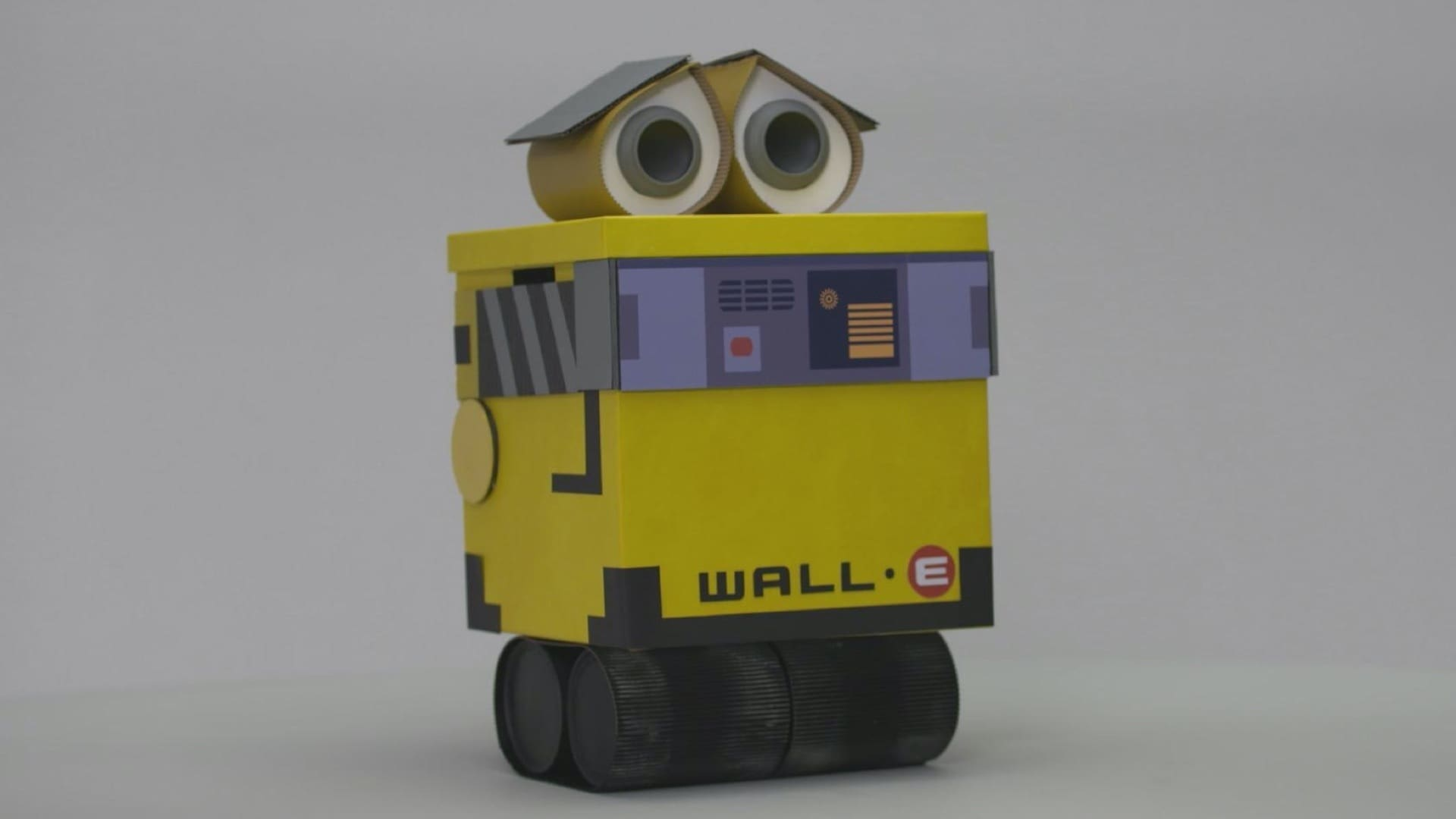 WALL-E Recycling Container Craft