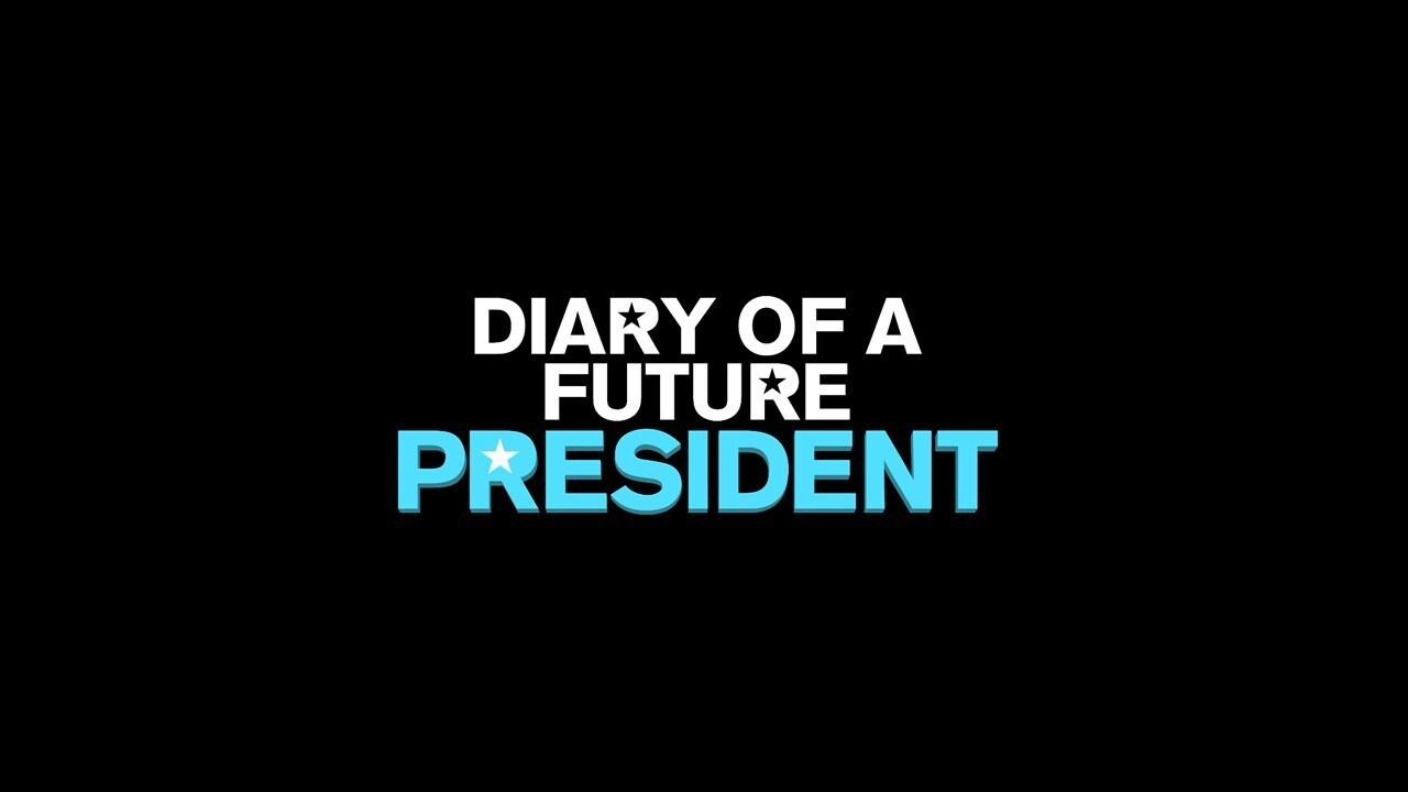 Diary of a Future President Logo - Black